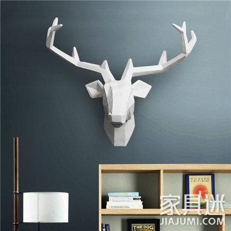 欧式家具羊头装饰图案