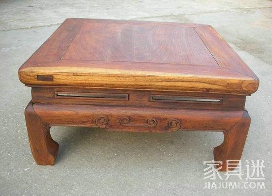 榉木老炕桌