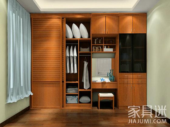 衣柜向上延伸空间