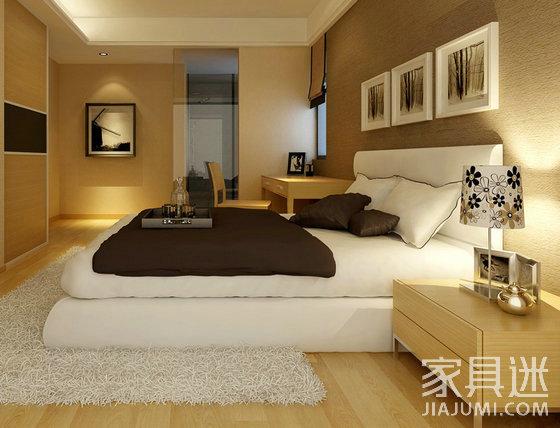 简洁又实用的卧室家具