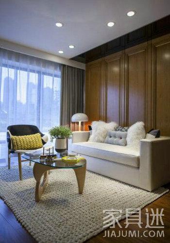 暖色系玻璃家具